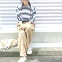カジュアルにもキレイ目にも☆ベージュチノパンの着こなし術!