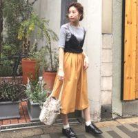 秋カラーのフレアスカートコーデ15選♡秋もフレアスカートで大人かわいいをつくろう♪