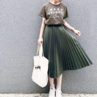 今から着たい♡秋色プリーツスカートのオトナ可愛いコーデ15選