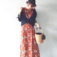 こっくり秋色ワンピースコーデ15選♡ワンピースでレディ&カジュアルなスタイルを♪