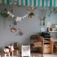 ナチュラルな子供部屋の作り方と片づける収納方法