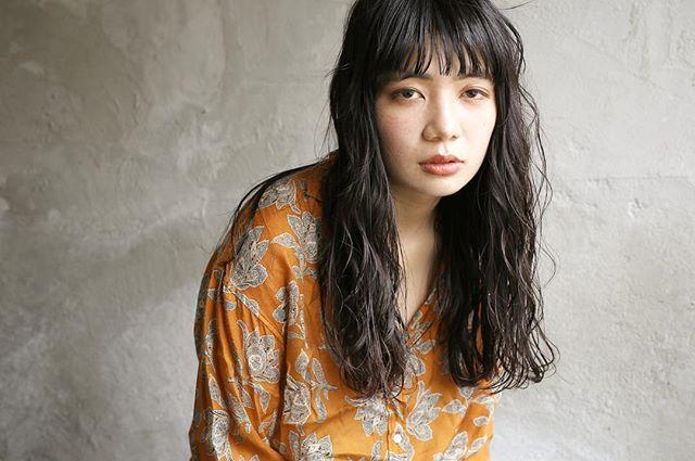 【ミディアム】前髪ぱっつん髪型集20