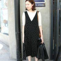 大人気のジャンパースカート♡ジャンパースカートを使った旬なコーデをチェック!!