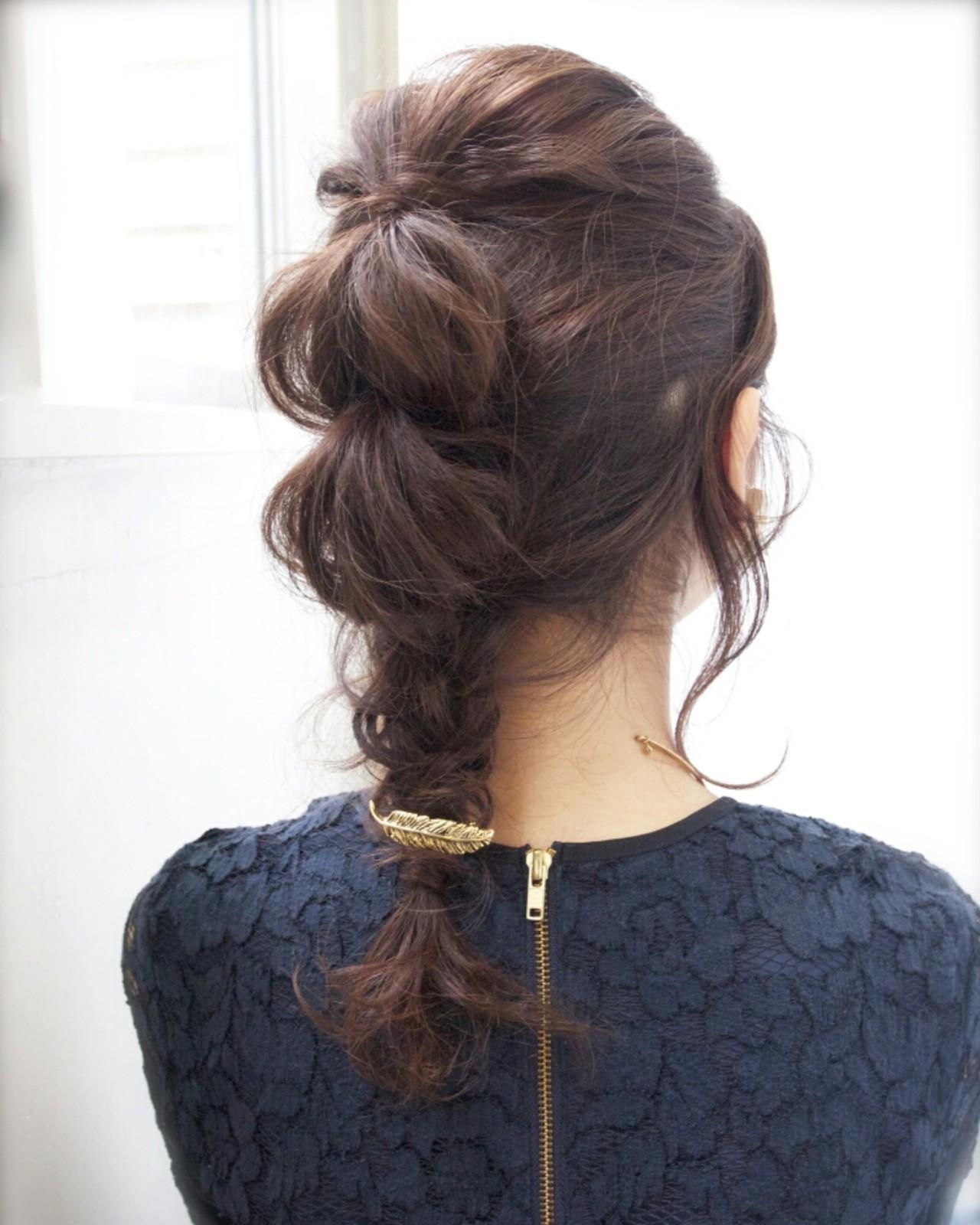 ミディアムヘアアレンジ15