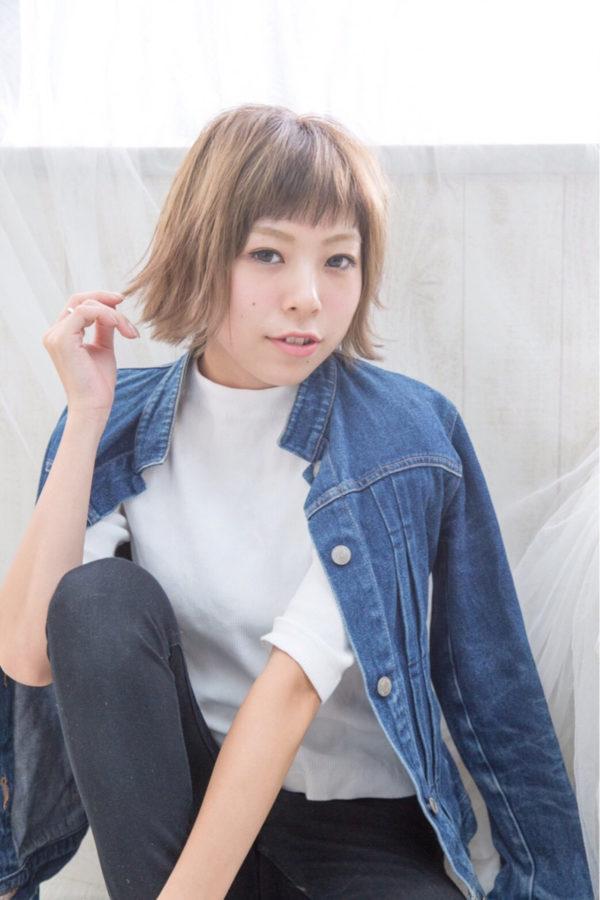 ぱっつん前髪5