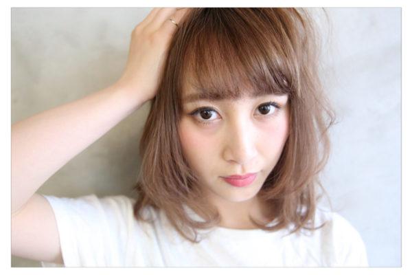 流し前髪の作り方4