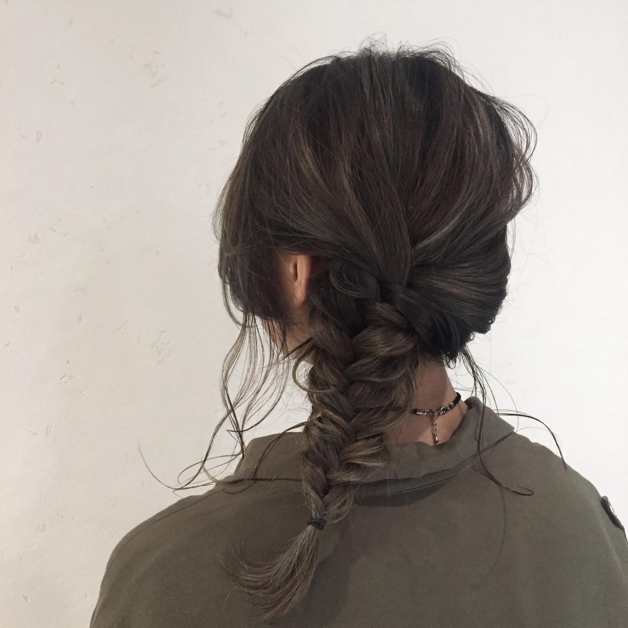 ミディアムヘアアレンジ12