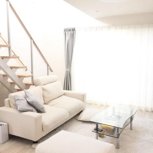 部屋を広くみせるホワイト家具2