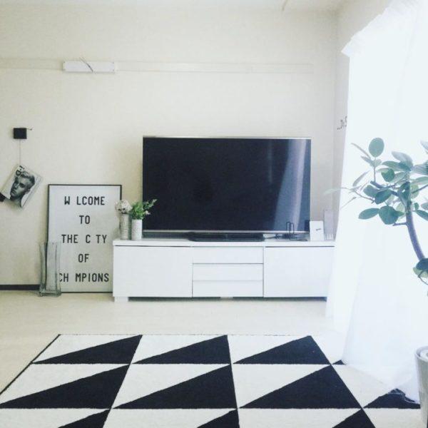 テレビの壁面収納実例11