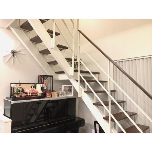 階段下をフリースペースに活用3