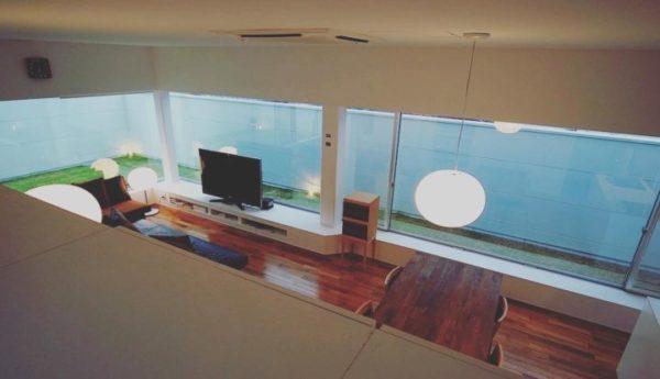 テレビの壁面収納実例27