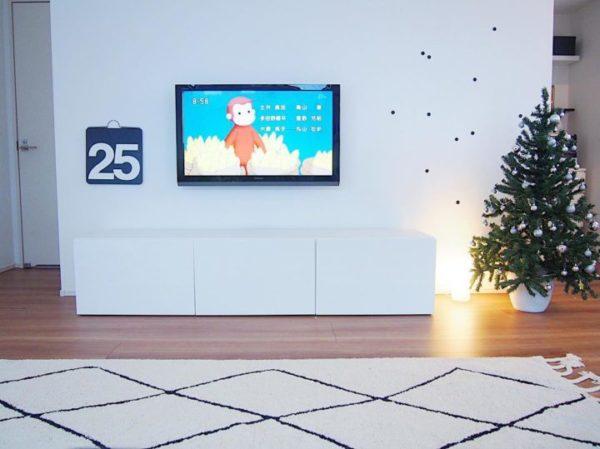 テレビの壁面収納実例36