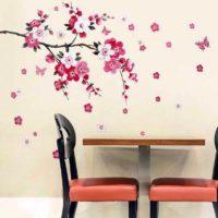 ウォールステッカー&お花を使ったインテリア実例16選♪季節を感じるインテリア術をご紹介☆
