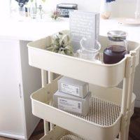 IKEAのおしゃれワゴンRASKOG!インテリアの達人のおしゃれな使い方を見てみよう