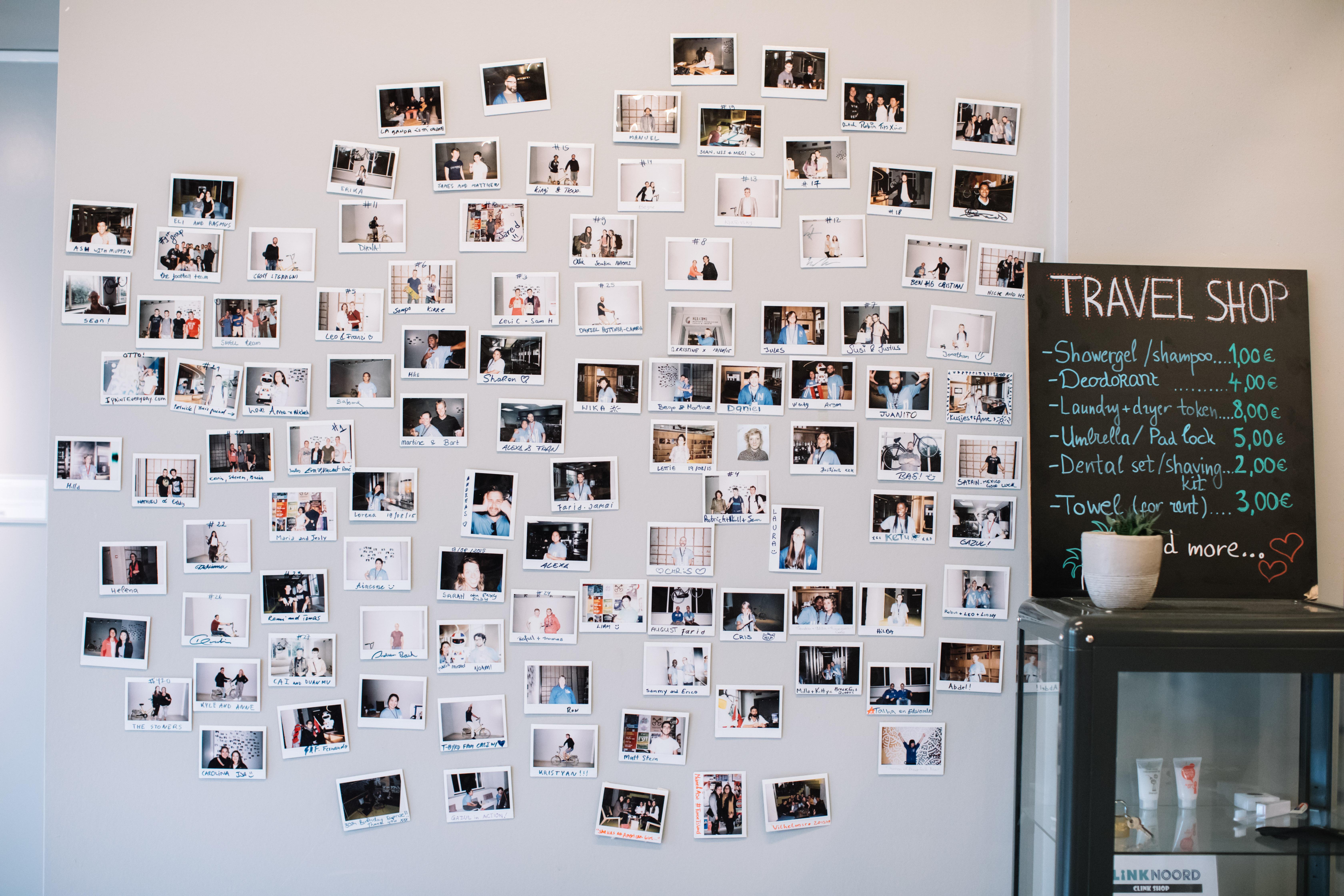 マスキングテープでアルバムや壁などを使って写真や思い出を素敵に
