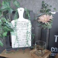 カフェ風インテリアにぴったり!100均DIYで看板を作って飾ってみませんか?