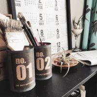 【ダイソー・セリア】100均アイテムで簡単DIY♡空き缶をおしゃれにリメイクしよう♪