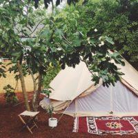 キャンプシーズン到来!大人女子のキャンプインテリアとくつろぎ時間の過ごし方。