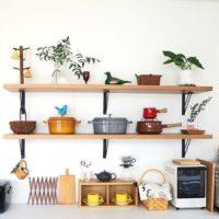 キッチンの「見せる収納」4つの方法♪効率アップで料理の腕も上がるかも!
