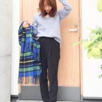 【Johnstons】のカシミアストールをひと巻き☆秋の上品コーデ集!