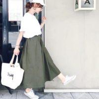 シンプルコーデの定番アイテム《白Tシャツ》!秋っぽく着こなすコーデ術15選☆