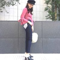 トップスで秋らしく♡お洒落さんたちの秋のデニムパンツコーデ15選!