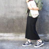 ゆるめのローテクがかわいい♡VANSのスニーカーを使った大人コーデ15選☆