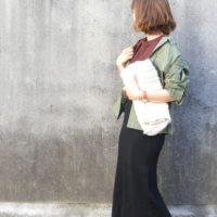 ユニクロのメリノブレンドリブスカートで秋コーデ♡これからの季節にピッタリなアイテム♪