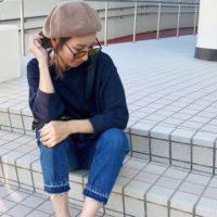 UNIQLOのワッフルクルーネックTシャツが大人気☆この秋No1大ヒット間違い無し!