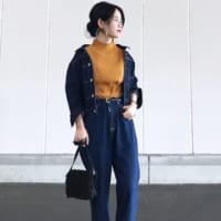 《デニムonデニム》がかわいい♡パンツも羽織り物もデニムで合わせる秋コーデ