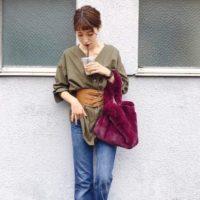 秋のカーキアイテムコーデ15選♡トレンド感を出して今っぽく着こなそう♪