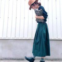 ユニクロの『ワッフルクルーネックT』おすすめコーデ集!大人気のトップスどう着る?