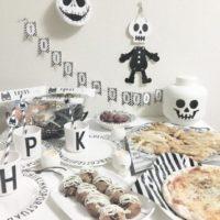 今年のハロウィンはモノトーンでコーディネート!白黒ハロウィングッズの飾り付けをご紹介♪