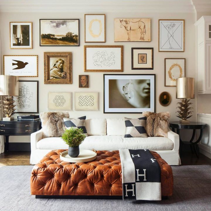 Image Result For Living Room Decor With Brown Leather Couches