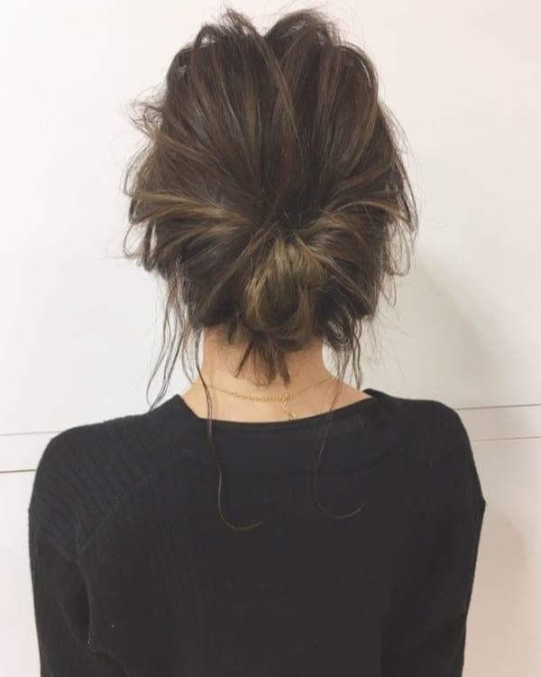 まとめ髪8