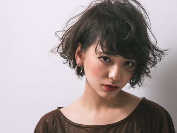 ふわっとウェーブ髪型例12