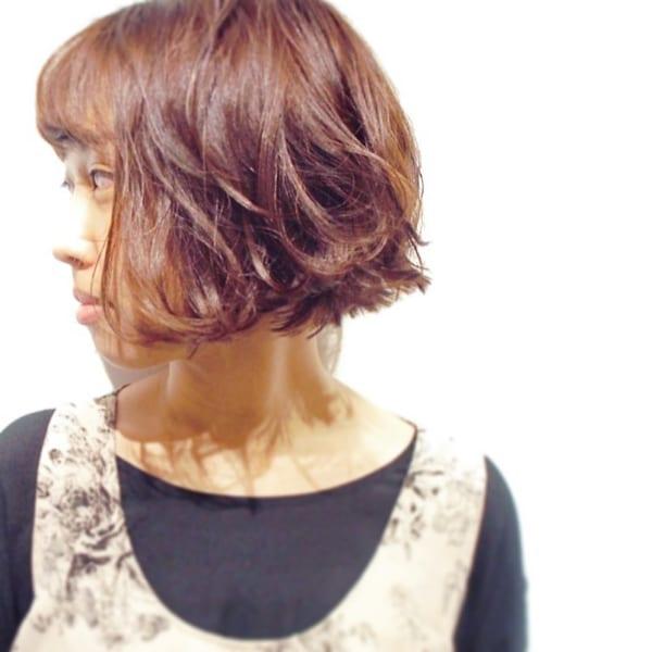 ふわっとウェーブ髪型例13