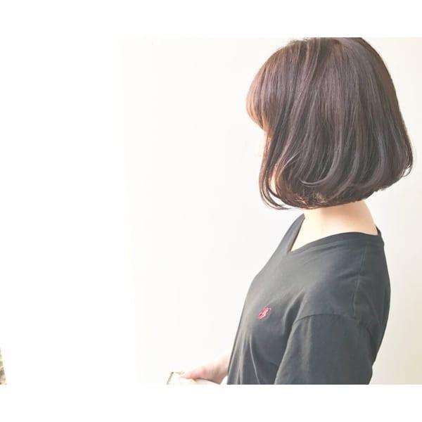 ふわっとウェーブ髪型例17