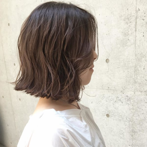 ふわっとウェーブ髪型例18