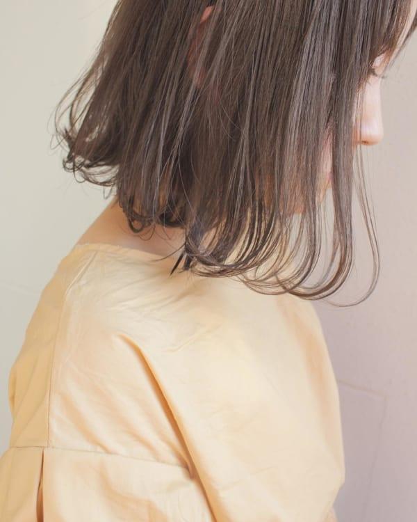 ふわっとウェーブ髪型例19
