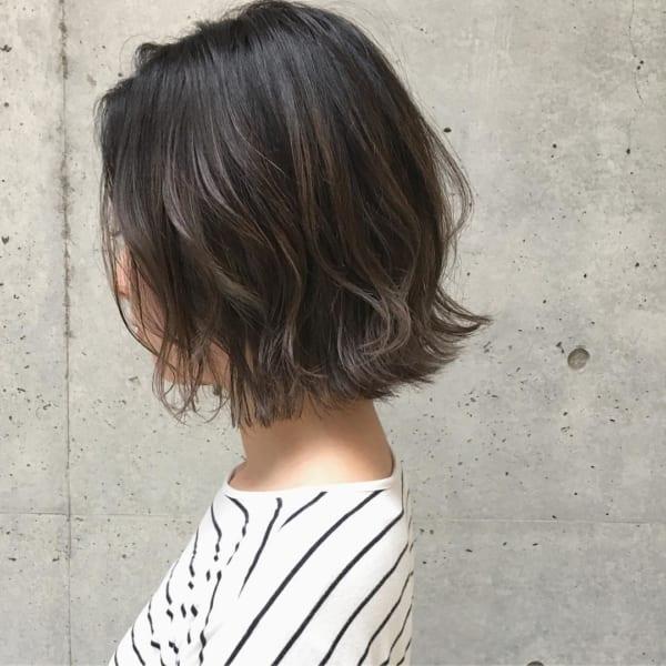 ふわっとウェーブ髪型例20