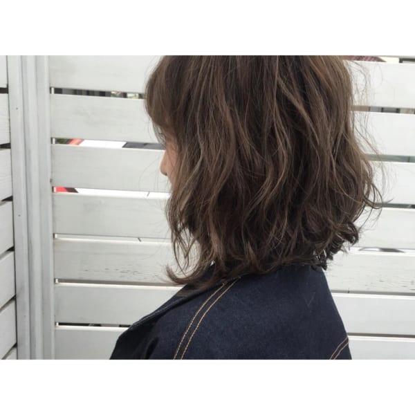 ふわっとウェーブ髪型例21