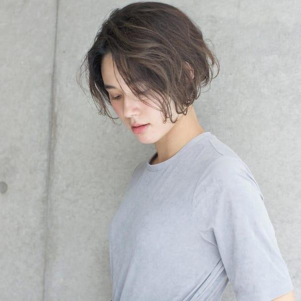 ふわっとウェーブ髪型例22