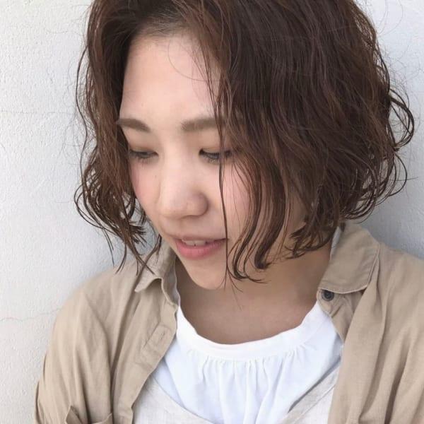 ふわっとウェーブ髪型例23
