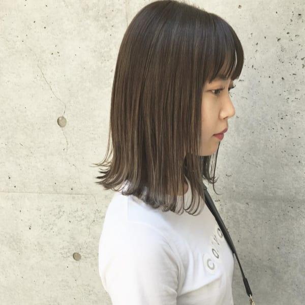 ふわっとウェーブ髪型例24