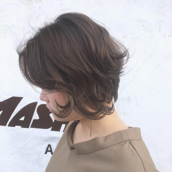 ふわっとウェーブ髪型例26