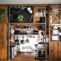 憧れのカフェ風空間を演出☆《黒板》のインテリア使用実例