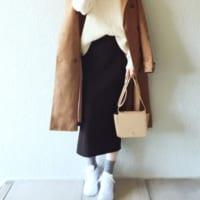 ユニクロ&GUの人気スカート☆Iラインスカートを使ったスタイルアップコーディネート15選♡