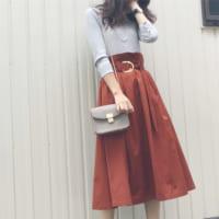 この冬はクラシカルな雰囲気を♪ブラウン系のZARAスカートで作る大人女子コーデ集♡