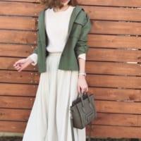 ロングスカートを使った女性らしい着こなし15選♡大人っぽさや秋らしさもしっかり演出♪